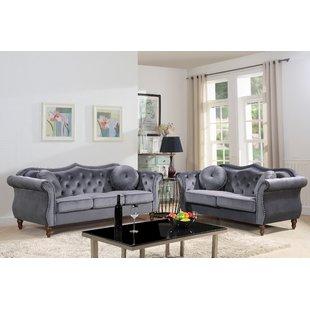 Velvet Living Room Sets You'll Love | Wayfair
