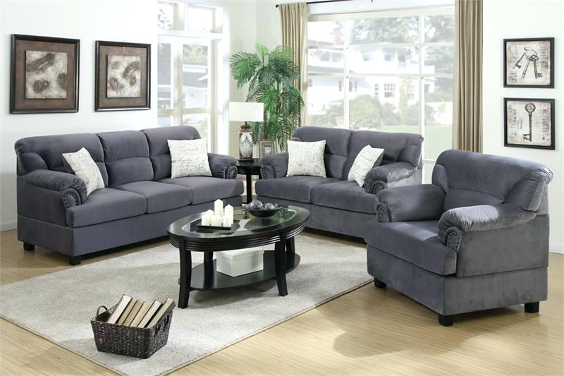 Grey Couch Sets 3 Piece Grey Sofa Set u2013 indiadailytimes.info