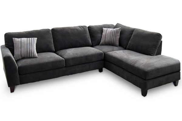 Picture Grey Microfiber Sectional Sofa New Beautiful Living Rooms