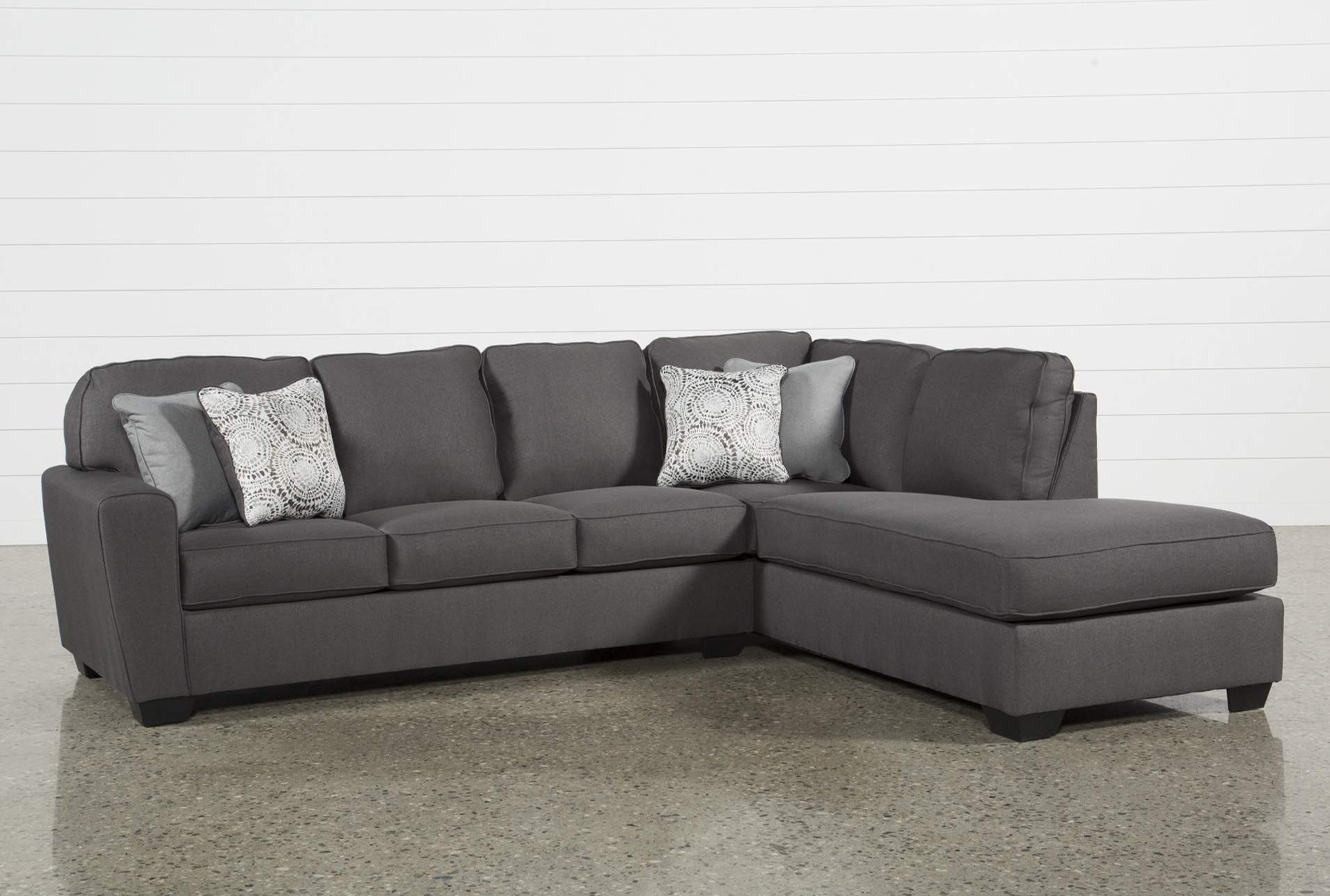 Grey Sectionals & Sectional Sofas   Living Spaces