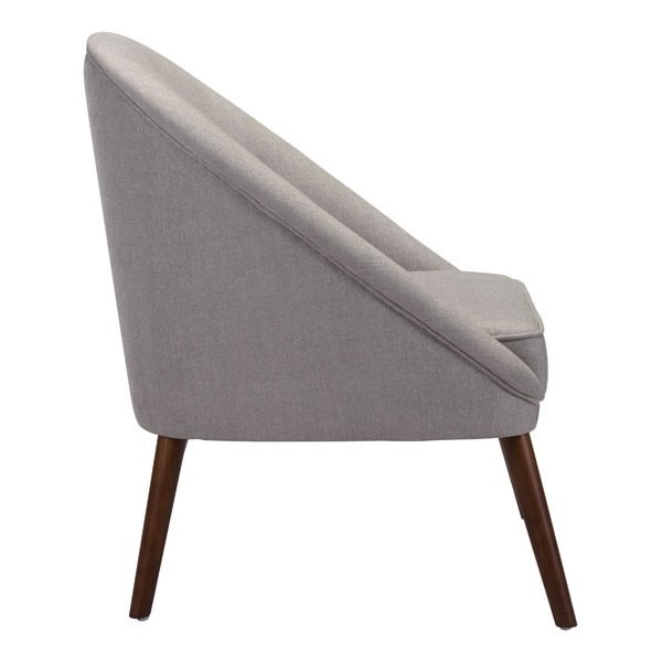 Shop Carter Occasional Chair Light Gray - Free Shipping Today