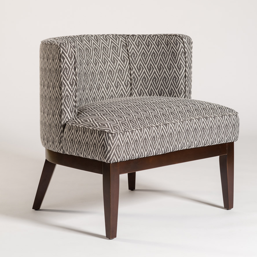 Chaucer Grey Occasional Chair u2014 Miller's Home Furnishings