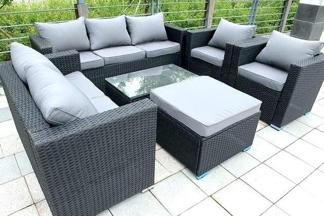 Grey Rattan Outdoor Furniture Rattan Garden Furniture Sold Out