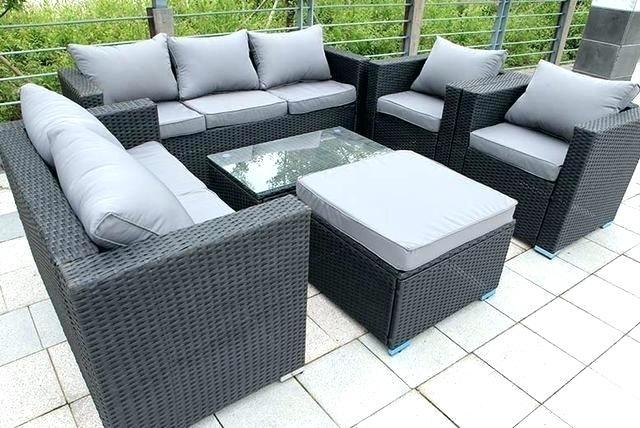 Grey Rattan Outdoor Furniture Rattan Garden Furniture Sold Out