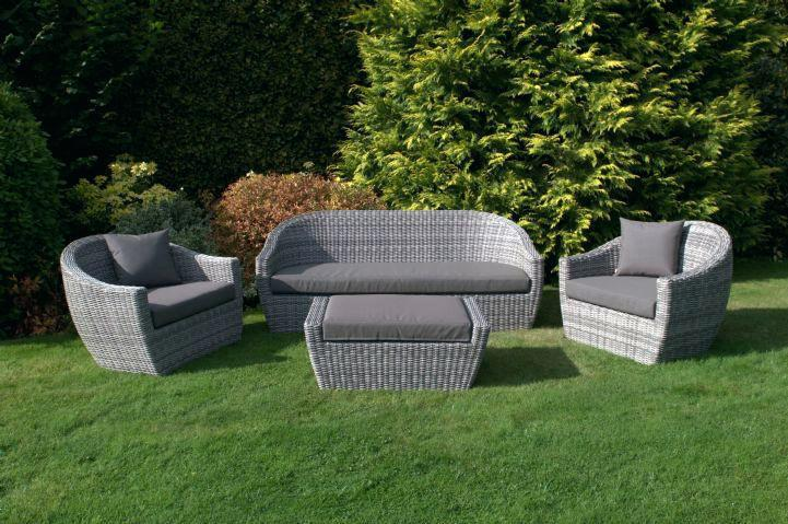 Grey Rattan Outdoor Furniture Maze Rattan Garden Furniture Grey