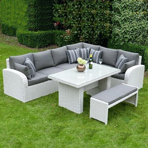 Grey Rattan Outdoor Furniture Rattan Garden Furniture Grey Rattan