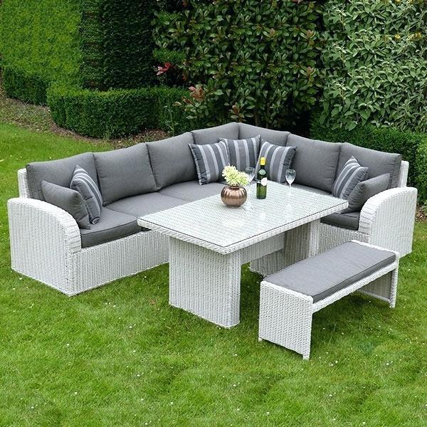 Grey Rattan Outdoor Furniture Rattan Garden Furniture Grey Rattan