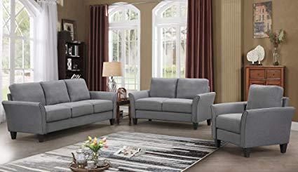 Amazon.com: Harper&Bright Designs Living Room Sets Living Room
