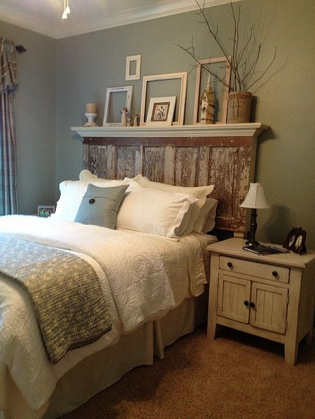 16 DIY Headboard Ideas & Projects | dream home. | Pinterest