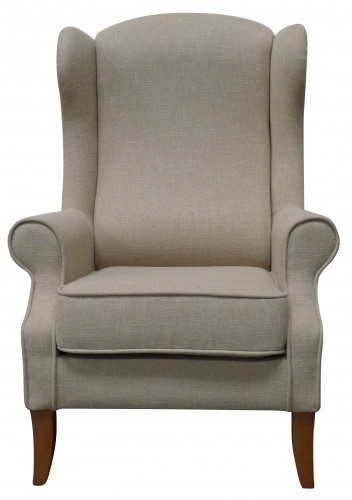 High-Backed Armchairs Are Stunning Feature Chairs
