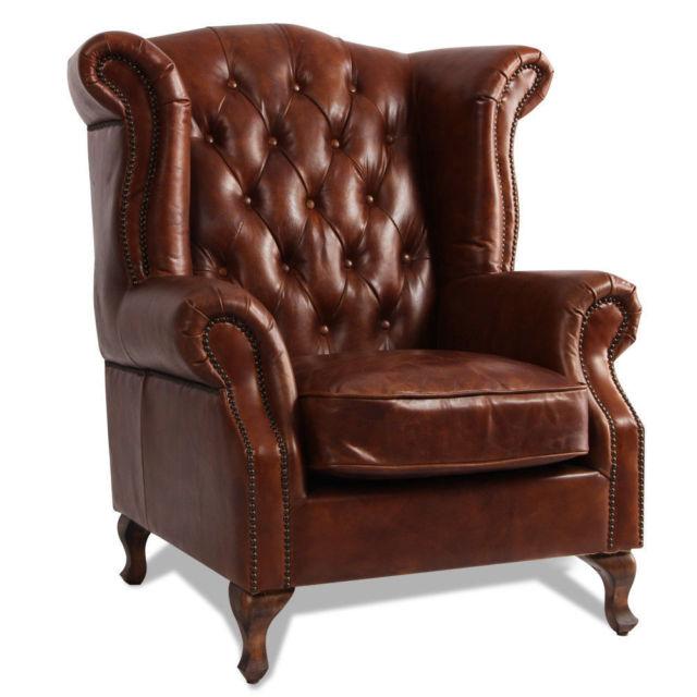 Buy MarquessLife 100 Genunie Leather Handmade Tufted High Back