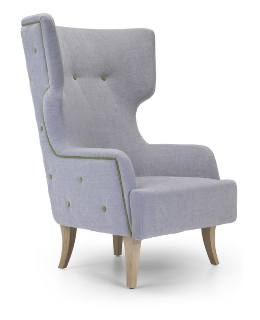 DONNA | High-back armchair Donna Collection By Domingo Salotti