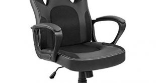 Amazon.com: Furmax Office Chair Desk Leather Gaming Chair, High Back