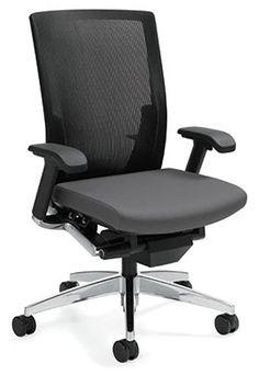 Global, High Back Synchro-Tilt Mesh Task Chair - Track Furniture. Track  Office Furniture