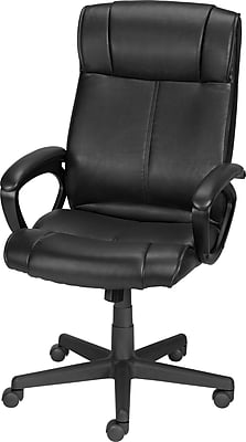 Staples® Turcotte Luxura® High Back Office Chair, Black | Staples
