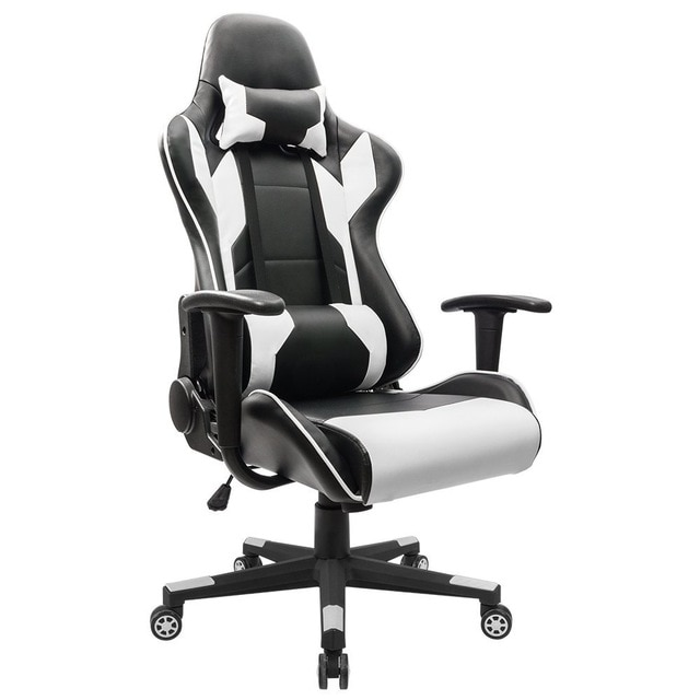 Homall Executive Swivel Leather Gaming Chair, Racing Style High back