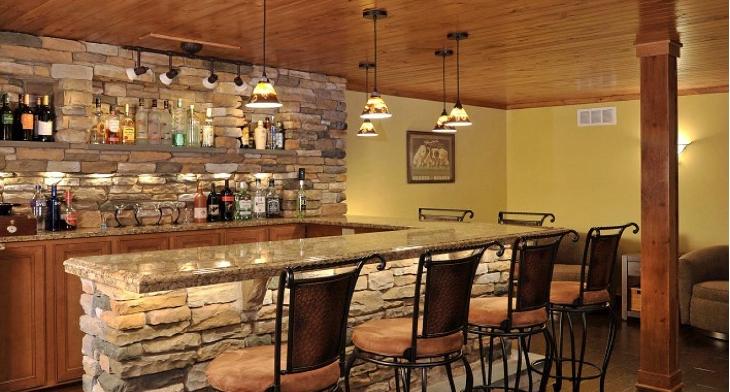 17+ Rustic Home Bar Designs, Ideas | Design Trends - Premium PSD