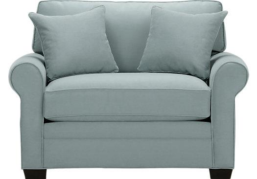 $549.99 - Bellingham Hydra (Sky (light blue) blue) Chair - Oversized