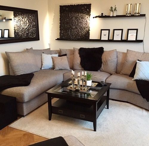 cool Livingroom or family room decor. Simple but perfect - Pepi Home  Decor Designs