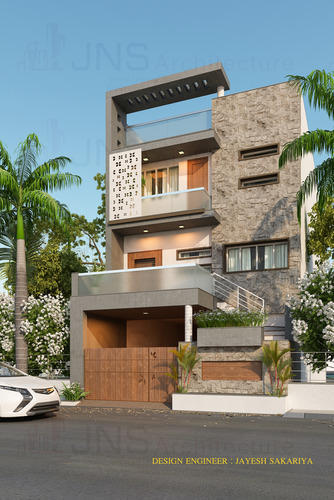 House Designing, House Interior Designs in Mavdi, Rajkot, JNS Design