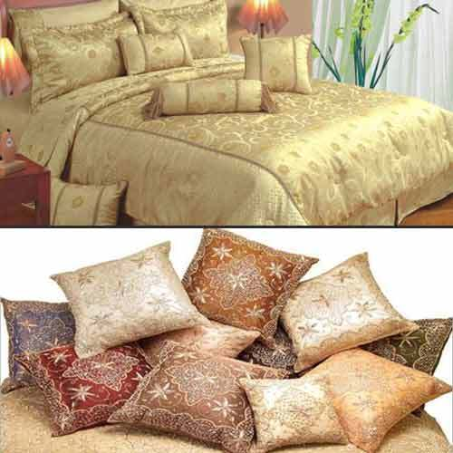 Home Furnishing Products - Embroidered Bed Sheets Set Manufacturer