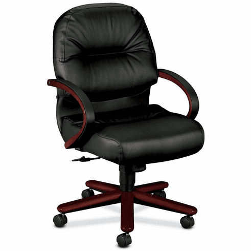 HON Office Chairs - HON Mid Back Leather Office Chair [2192]