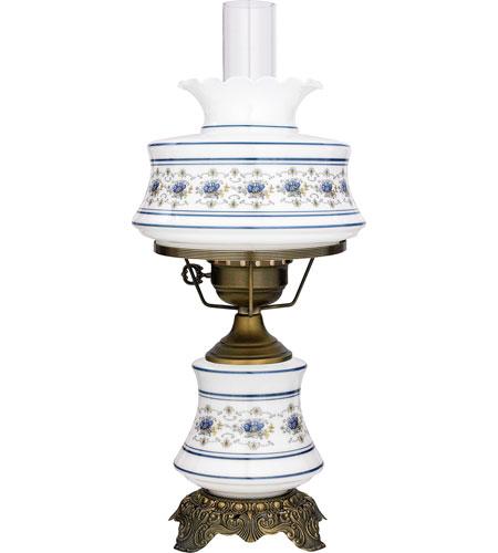 Quoizel AB701A Abigail Adams 20 inch Antique Brass Hurricane Lamp