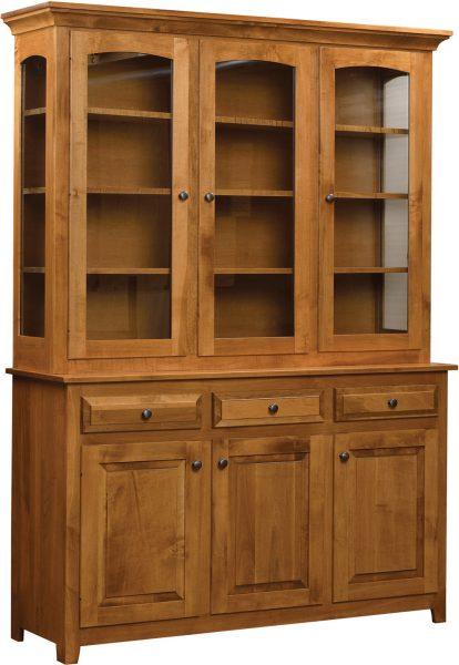 Vienna Premium 3 Door Hutch - Home Acres Fine Furniture u2022 Hand