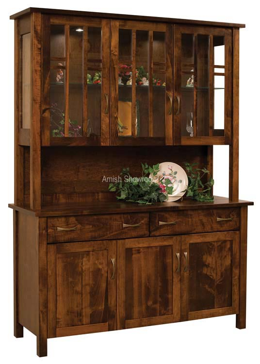 Acadia Hutch for $2,990.00 in Hutches by Townline | Amish Furniture