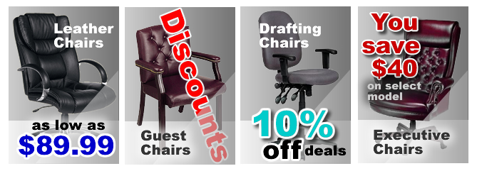 Office Chairs, Ergonomic Office Chairs, Executive Leather Office