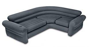 Amazon.com: Intex Inflatable Corner Sectional Sofa with Cupholders