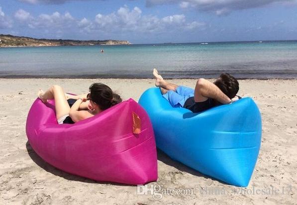 2019 Lazy Inflatable Sofa Camping Outdoor Air Sleep Sofa Banana