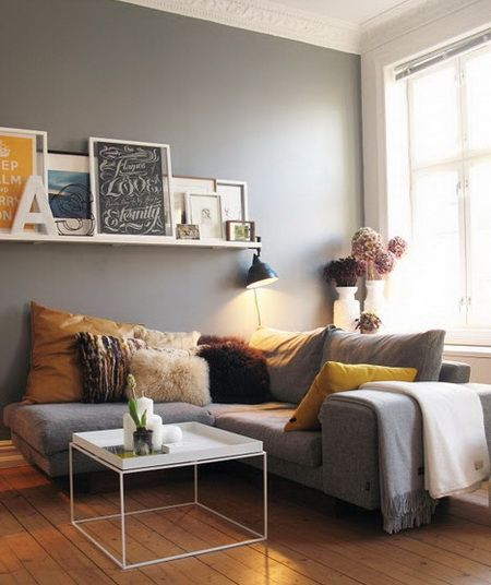 7 Interior Design Ideas for Small Apartment | small apartment living