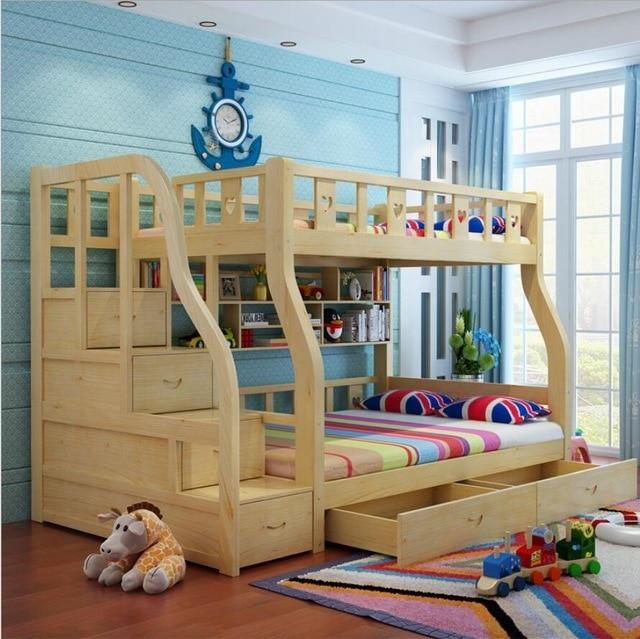 Webetop Kids Beds For Boys And Girls Bedroom Furniture Castle Bunk