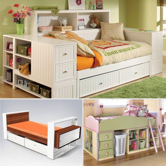 Dillon Lateral Bookcase Bed ($736, originally $1,051)   Kids