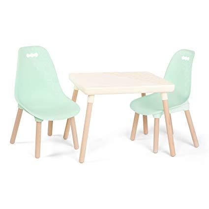 Amazon.com: B toys u2013 Kids Furniture Set u2013 1 Craft Table & 2 Kids