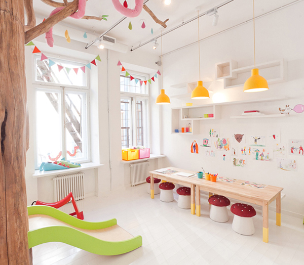 kids-playroom-design-in-biblioteka-restaurant | House Design And Decor