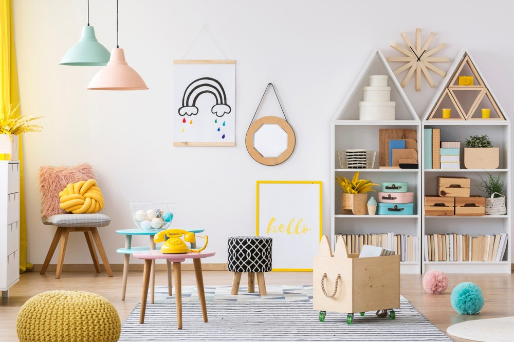 Kids playroom – a place filled   with joy and happiness