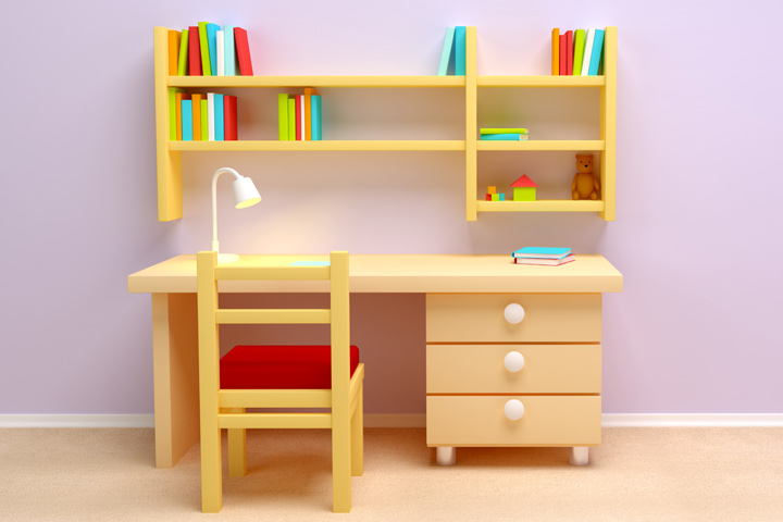Kids Study Table Design Ideas u2014 The Home Redesign