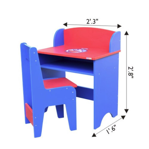 Plastic Kids Study Table, Children Table, Kids Study Desk, Kids