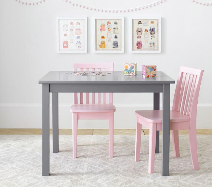 Carolina Small Table & 2 Chairs Set | Pottery Barn Kids