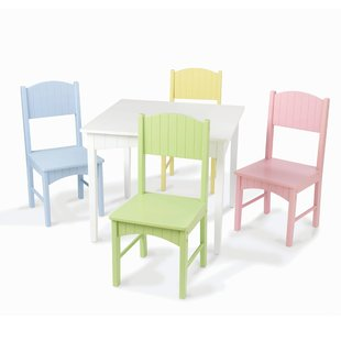 Modern Kids Table And Chairs | Wayfair