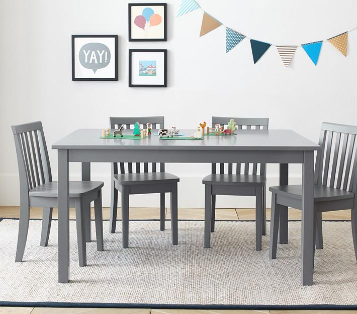 Carolina Large Table & 4 Chairs Set | Pottery Barn Kids