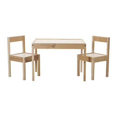 Amazon.com: IKEA Children's Kids Table & 2 Chairs Set Furniture (2