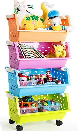 Amazon.com : MAGDESIGNER Kids' Toys Storage Organizer Bins Baskets