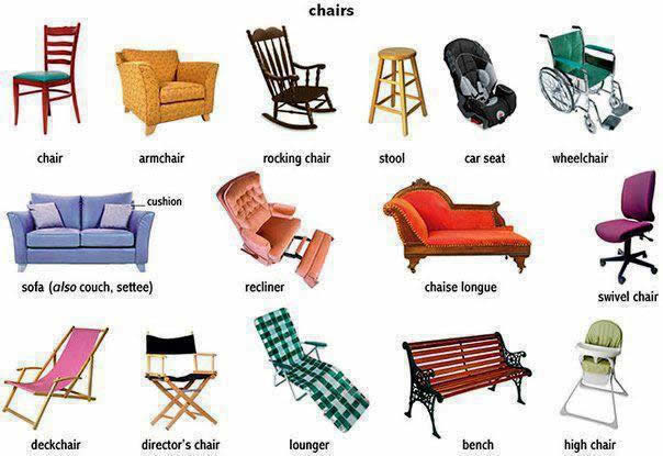 The importance and uses of   different kinds of chairs