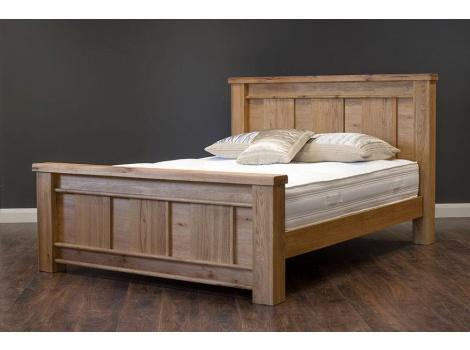 Dimarco oak super king size bed frame | Corstorphine Bed Centre