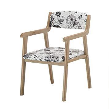 Amazon.com - Dining chair ZJM- Retro Backrest Kitchen Armchair