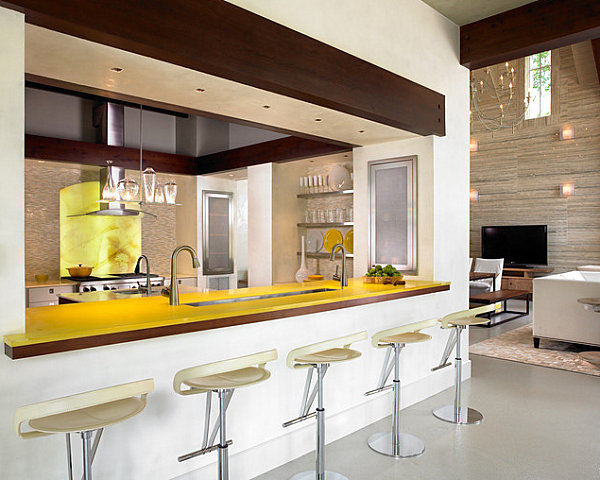 Yellow-Kitchen-Bar u2013 Kitchens and Bathrooms