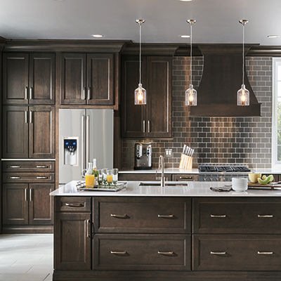 Bringing kitchen cabinets to   good use